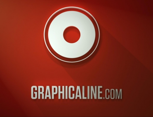 LOGO GRAPHICALINE LONG SHADOW