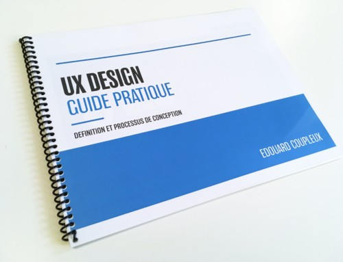 CONCEPTION D'UN GUIDE PRATIQUE SUR L'UX DESIGN